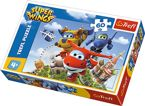 PUZZLE 60 SUPER WINGS LOT DOOKOŁA ŚWIATA 17307